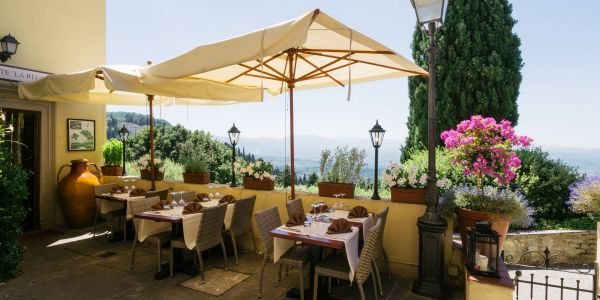 Our Restauranton the hills of Florence